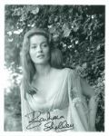 Barbara Shelley - Genuine Signed Autograph 8151